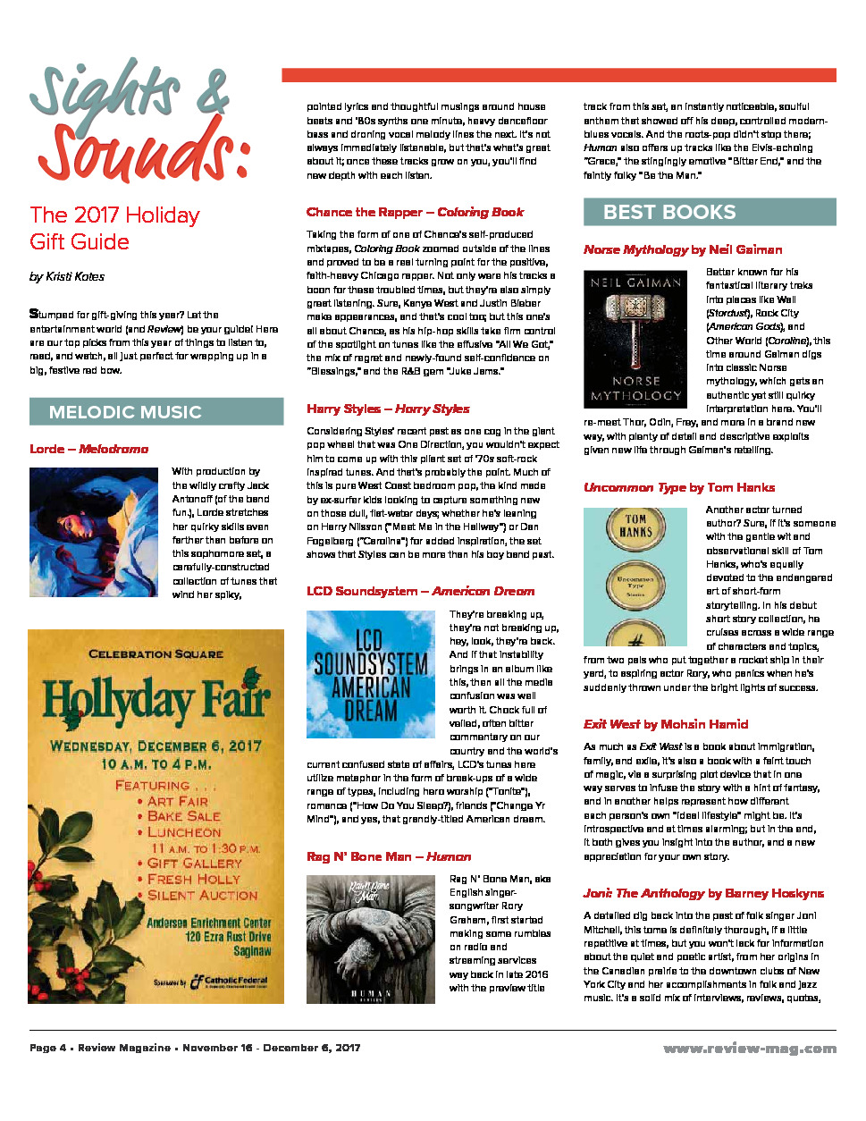 Issue 853 | The Review - Mid-Michigan's Leading Publication of News